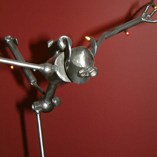 Metal Art - Coat Rack Bot