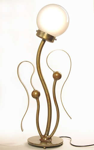Metal Art - Kelp Table Lamp