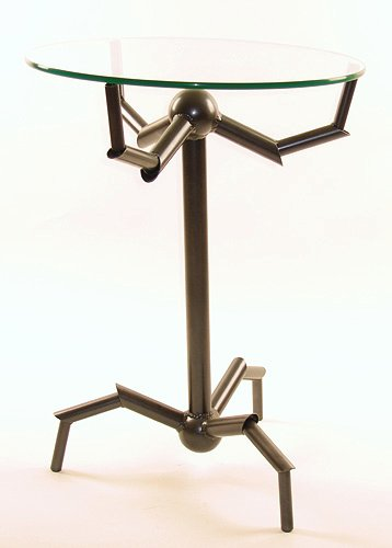 Metal Art - Klaw End Table