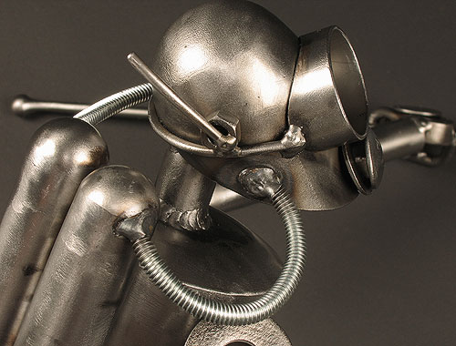 Metal Art - Scuba Bot