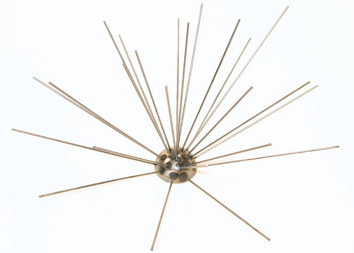 Metal Art - Sea Urchin