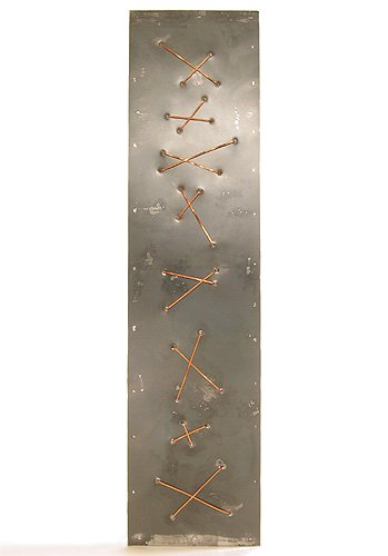 "Metal Art - ""Untitled"" Copper Lacing"