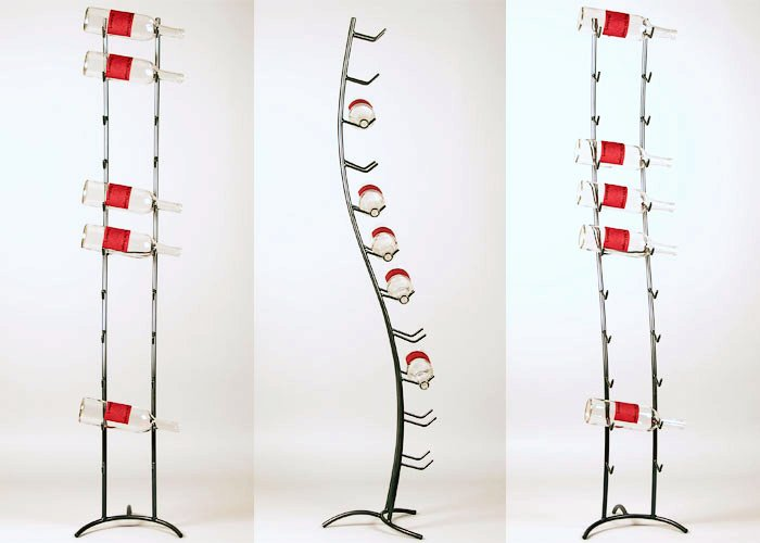 Metal Art - Wine Spine